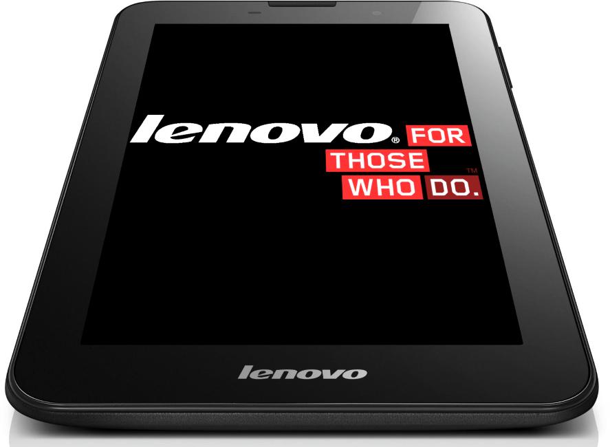 Lenovo IdeaTab A3000-H первый запуск после прошивки кастома
