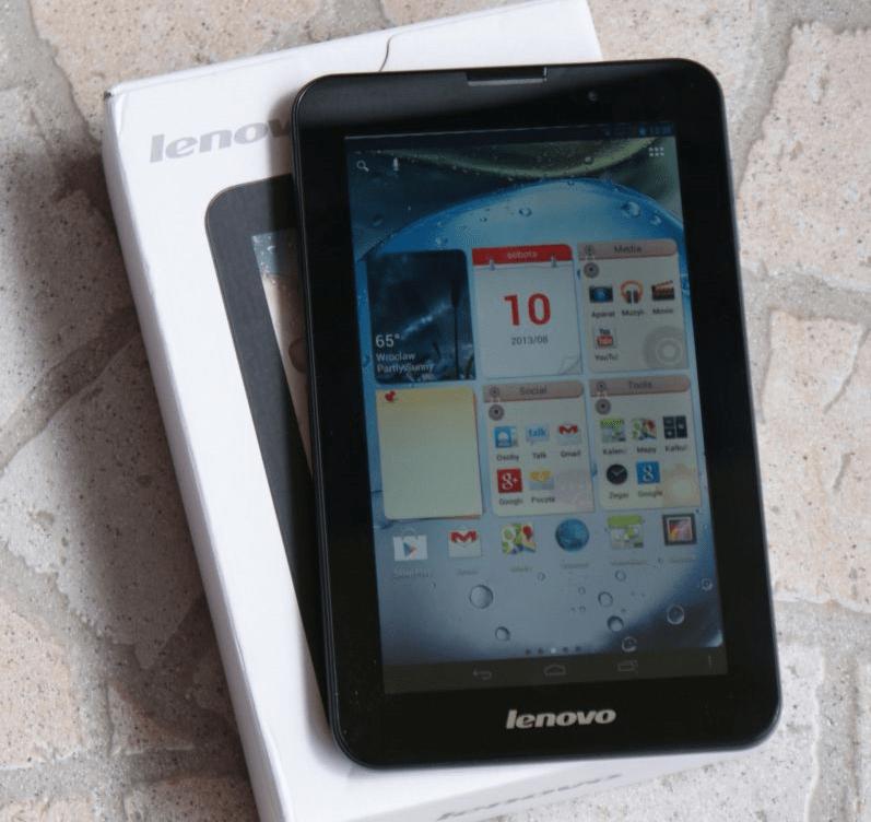 Lenovo IdeaTab A3000-H полный сброс настроек, очистка данных через заводское рекавери