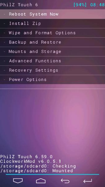Lenovo S660 Philz Touch Recovery для прошивки кастомов