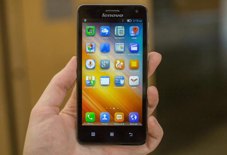 Lenovo S660 прошивка смартфона через заводское рекавери