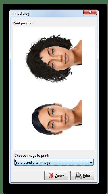 Настройка отредактированного изображения для печати в jKiwi