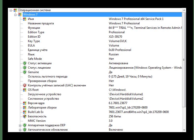 Подкатегория Система в SIW