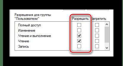 Предоставление полного доступа над файлом hosts в окне Свойства в ОС Виндовс
