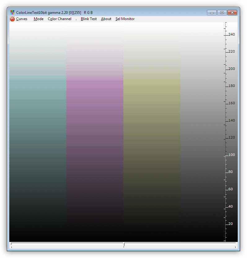 Программа для калибровки монитора CLTest