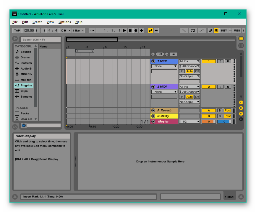 Программа для создания ремиксов Ableton Live