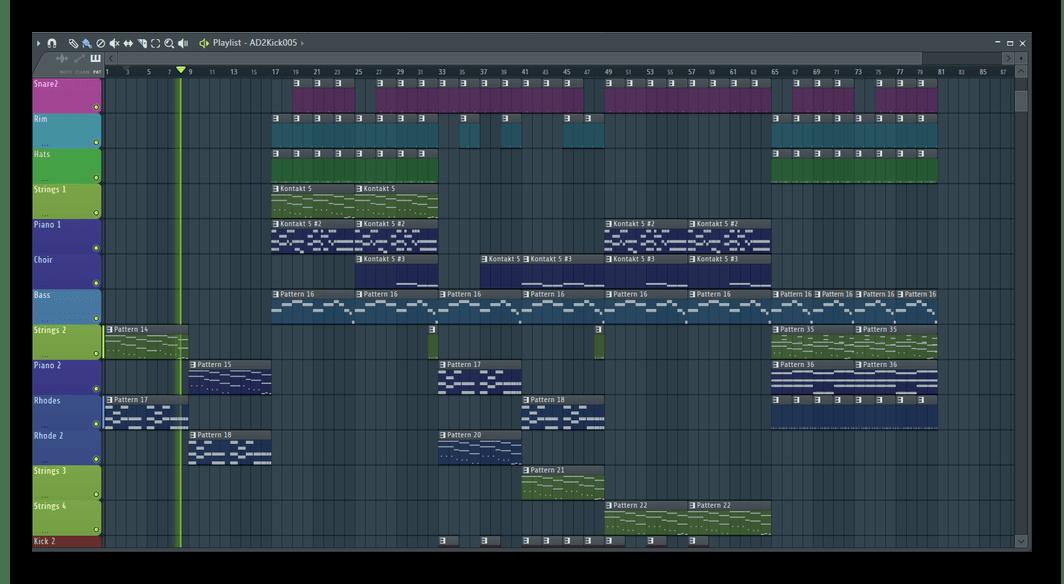 Программа для создания ремиксов FL Studio