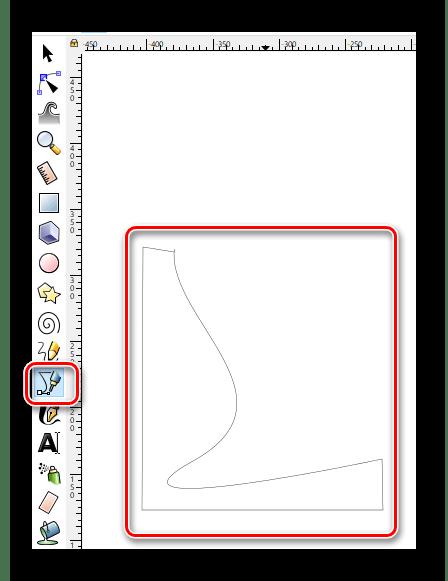 Рисуем прямые линии в Inkscape