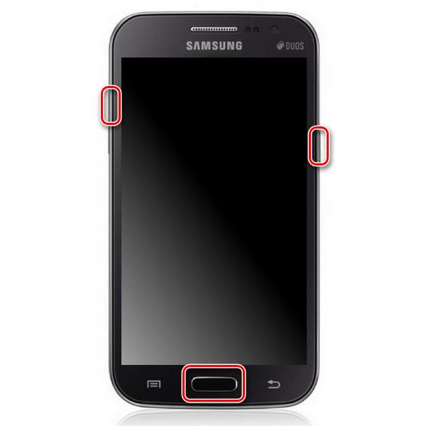 Samsung GT-i8552 Galaxy Win Duos Kies запуск в режиме рекавери