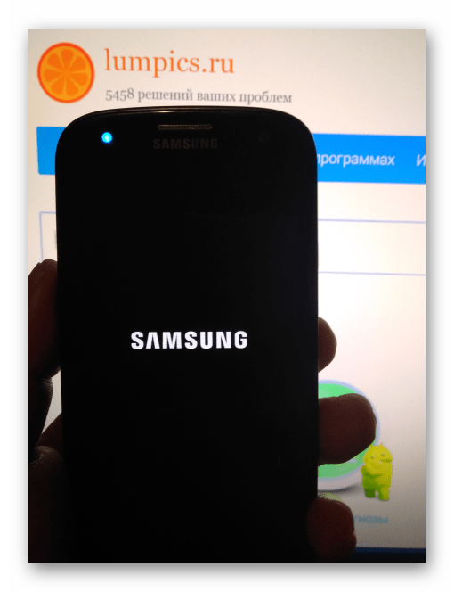 Samsung Galaxy S3 GT-I9300 запуск Андроид после прошивки через Mobile Odin