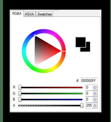 Цветовая палитра MCSkin3D