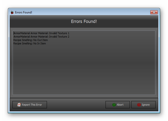 Тестирование проекта Deathly`s Mod Editor