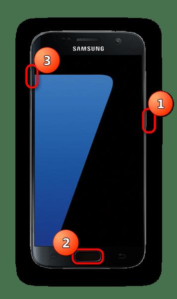 Войти в Recovery смартфона Samsung