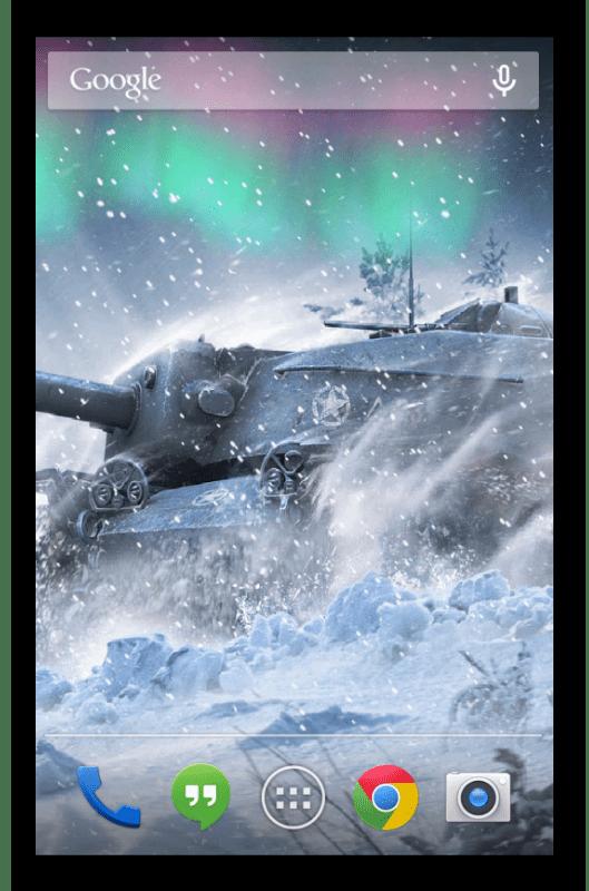 Живые обои World of Tanks