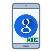Как выйти из аккаунта Google на Android