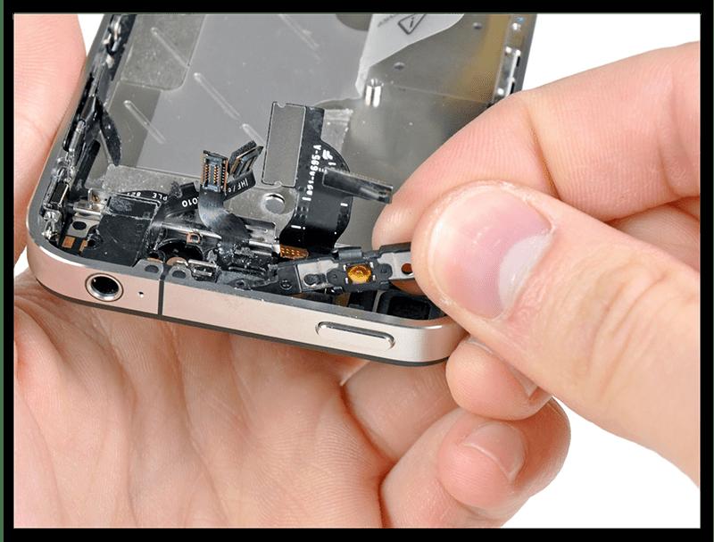Починка кнопки включения на телефоне