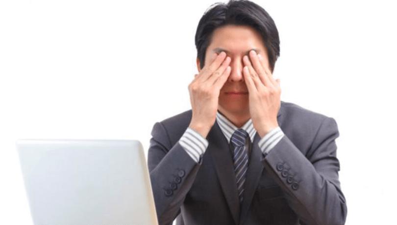 Болят глаза при неправильной настройке монитора