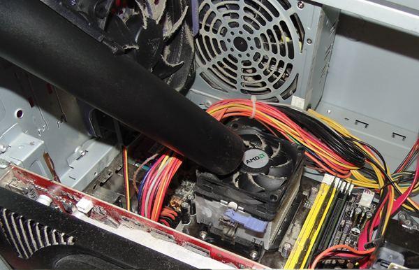 Чистка компьютера или ноутбука от пыли