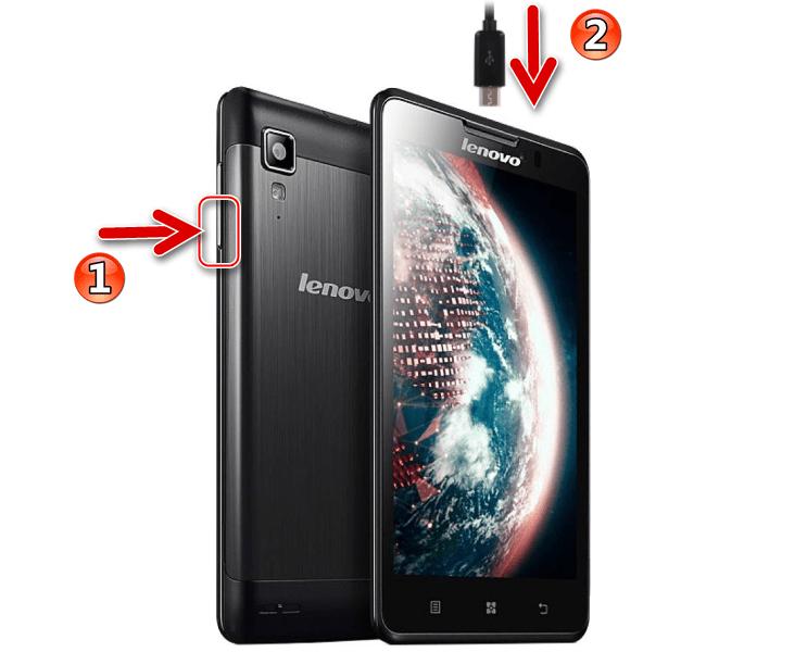 Lenovo P780 переключение телефона в META режим