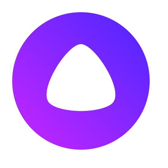 Лого ассистента Алиса от Яндекса