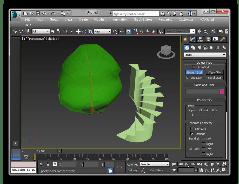 Моделирование в Autodesk 3ds Max