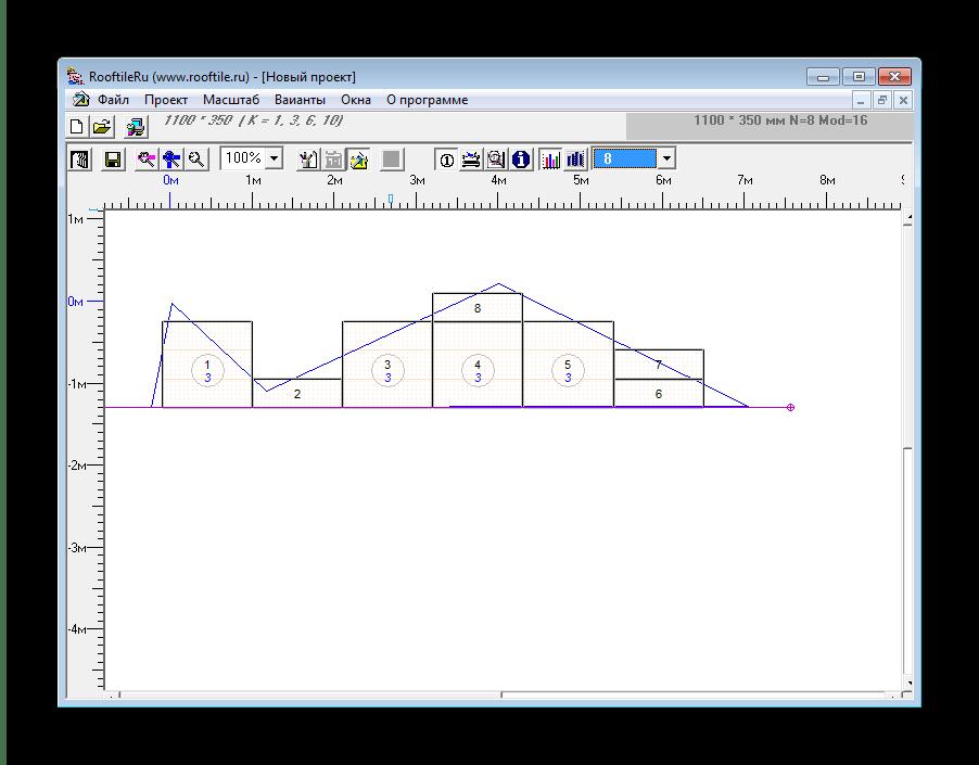 Переход в графический вид RoofTileRu