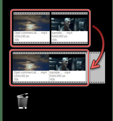 Соединение клипов Онлайн-сервис Videotoolbox