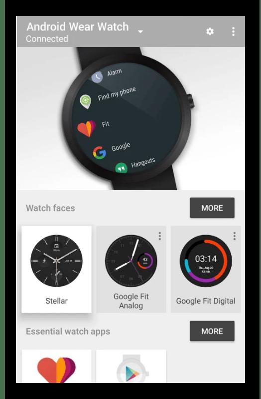 Умные часы Android Wear от Google