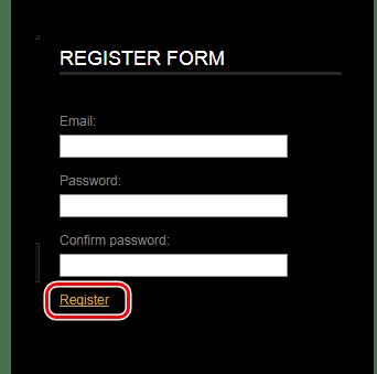 Ввод регистрационных данных Онлайн-сервис Videotoolbox
