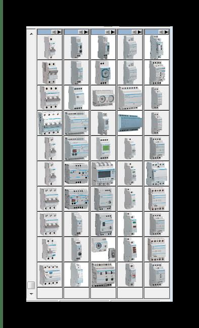 Выбор крышки щита 1-2-3 Схема