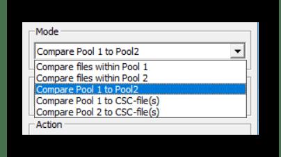 Выбор режима в CloneSpy