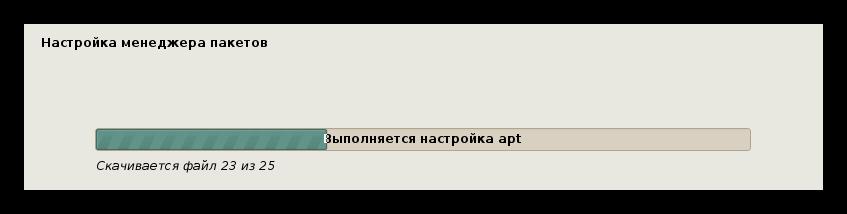 загрузка и установка дополнительного программного обеспечения при установке кали линукс