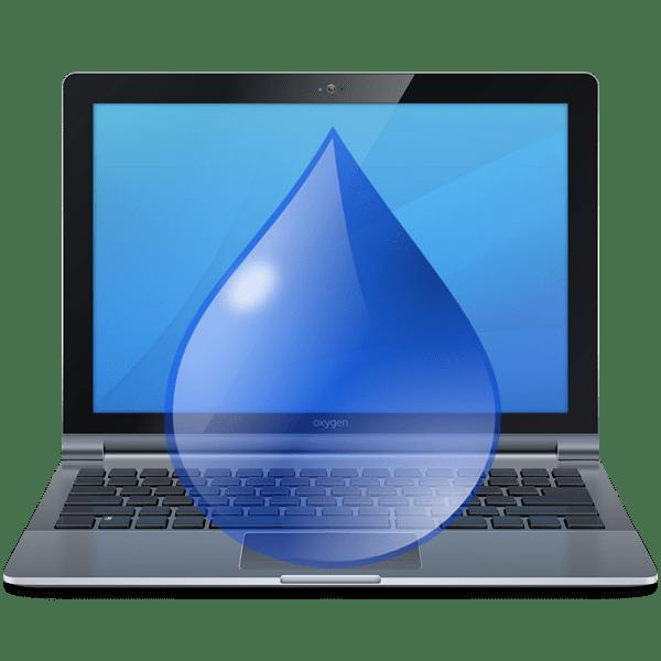 Что делать, если разлил жидкость на ноутбук