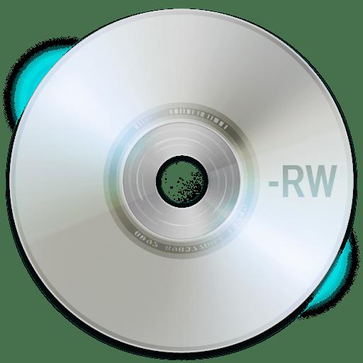 DVD-RW носитель