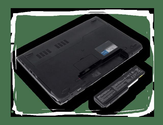 Извлекаем батарею из ноутбука
