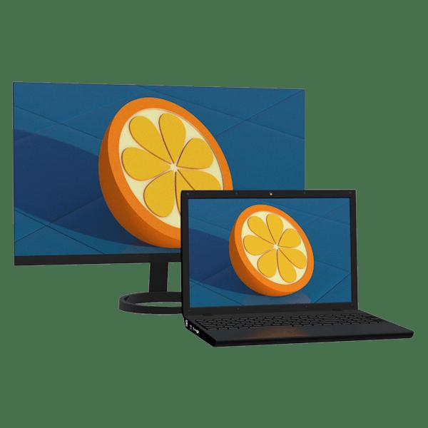 Как подключить монитор к ноутбуку