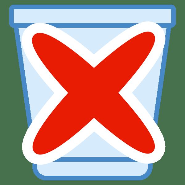 Как удалить корзину с рабочего стола