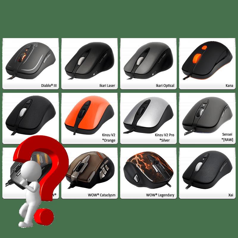 Как выбрать мышь для компьютера