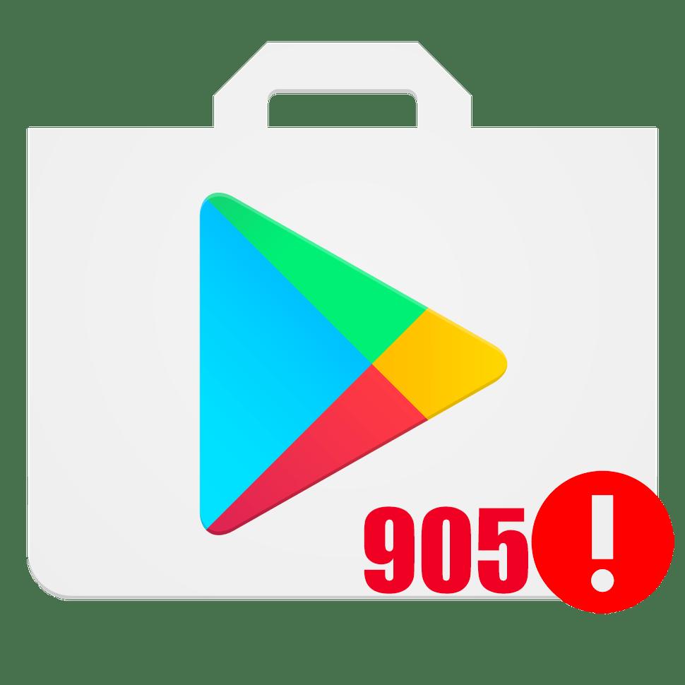 Код ошибки 905 в Плей Маркете