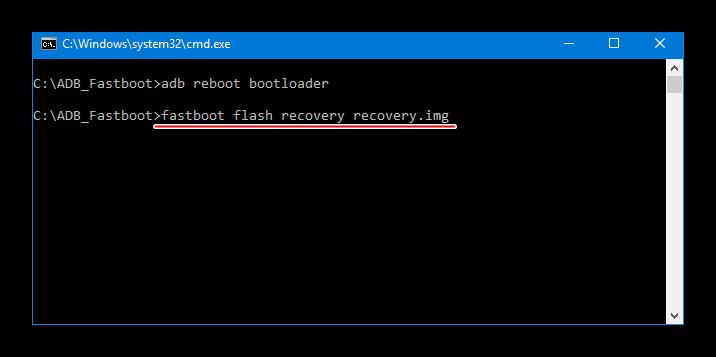 Meizu M2 Mini команда fastboot flash recovery для установки TWRP