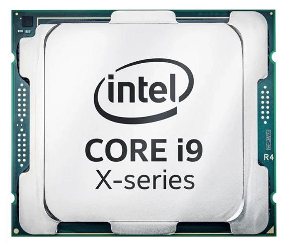 Общий вид процессора Intel Core i9-7960X Skylake