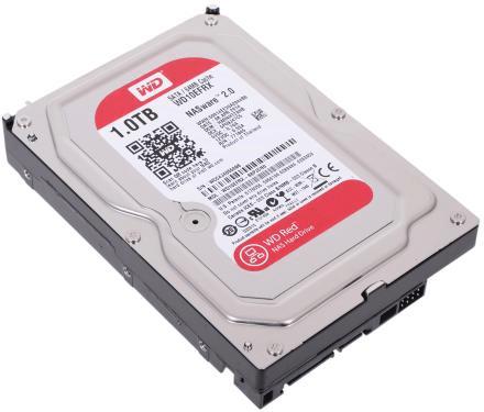 Общий вид жесткого диска Western Digital Red