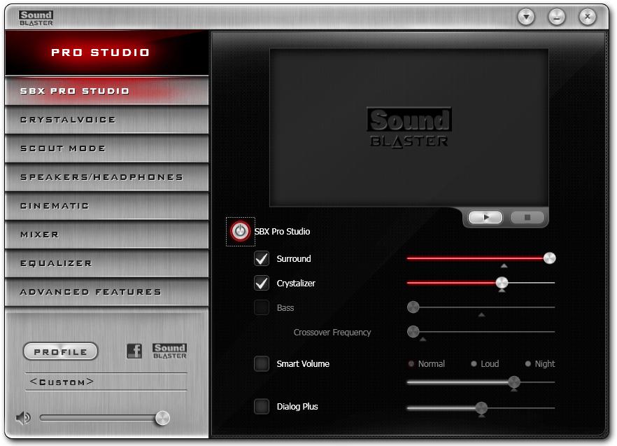 Программное обеспечение звуковых карт Creative