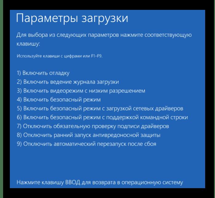 Процесс запуска системы в безопасном режиме в Windows 8