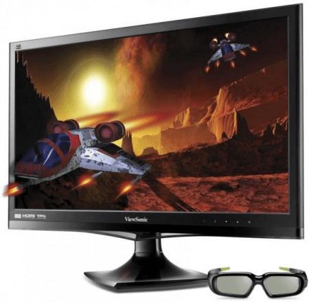 Режим 3D в мониторах
