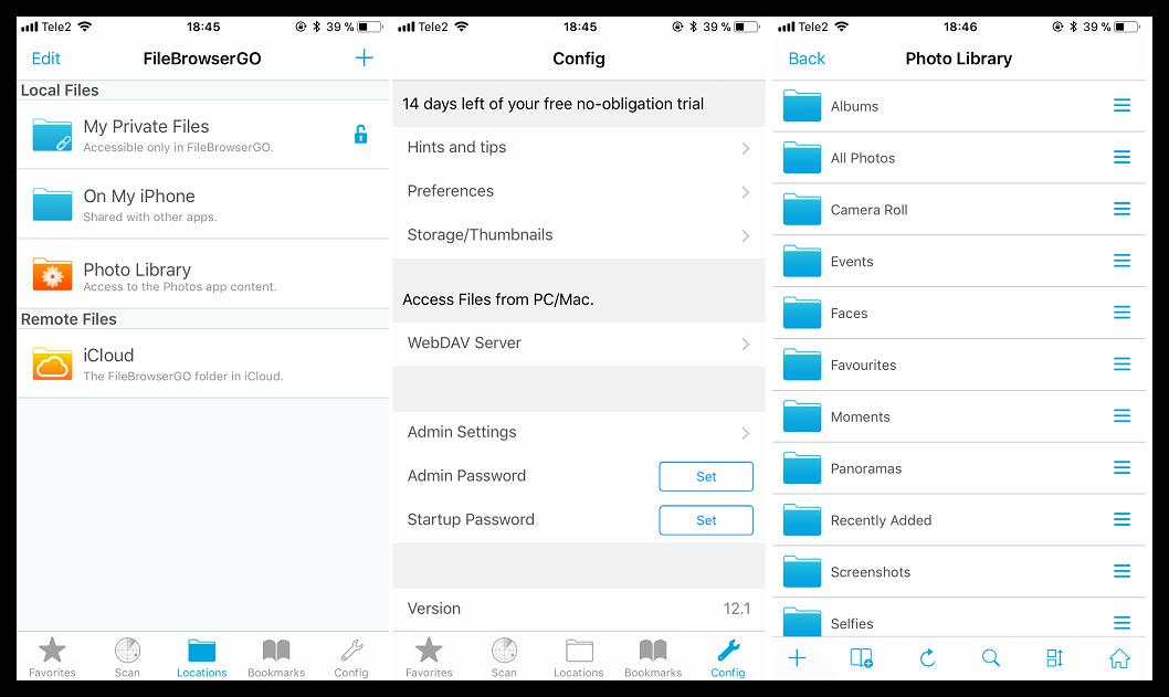 Скачать приложение FileBrowserGO для iOS