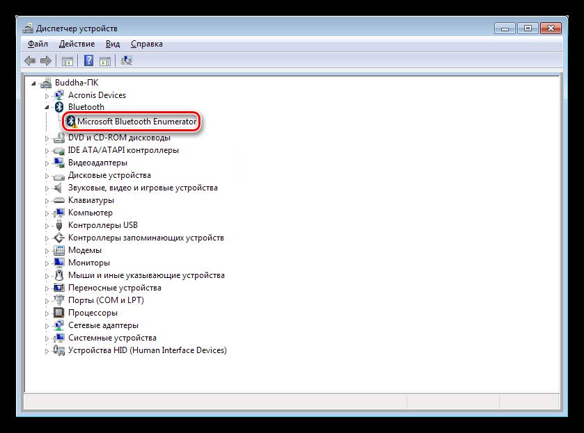 Устройство без драйвера в Диспетчере устройств Windows