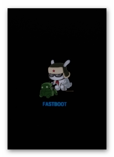 Xiaomi MiPAD 2 переведен в режим Fastboot