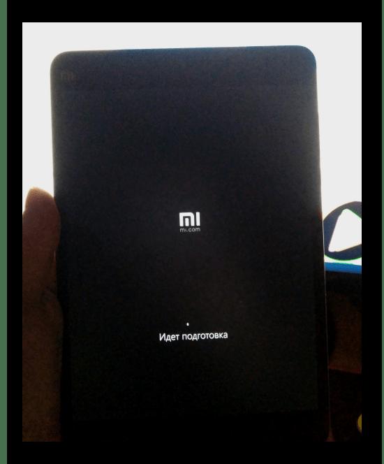 Xiaomi MiPad 2 продолжение установки Виндовс 10 после перезагрузки