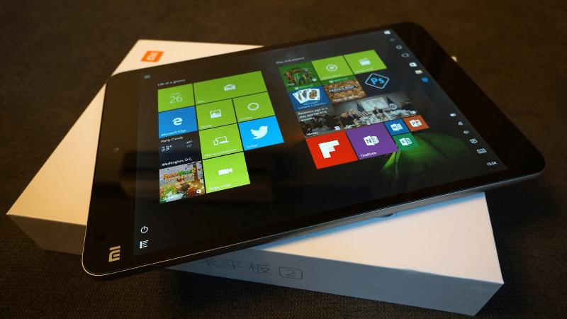 Xiaomi MiPad 2 - установка Windows 10 в планшет