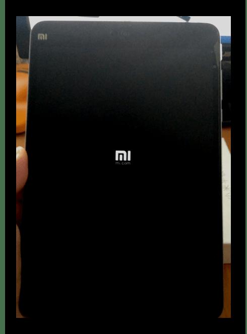 Xiaomi MiPad 2 запуск МИУИ после прошивки через MiFlash